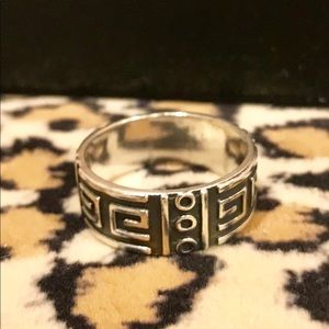 Mexian sterling silver band